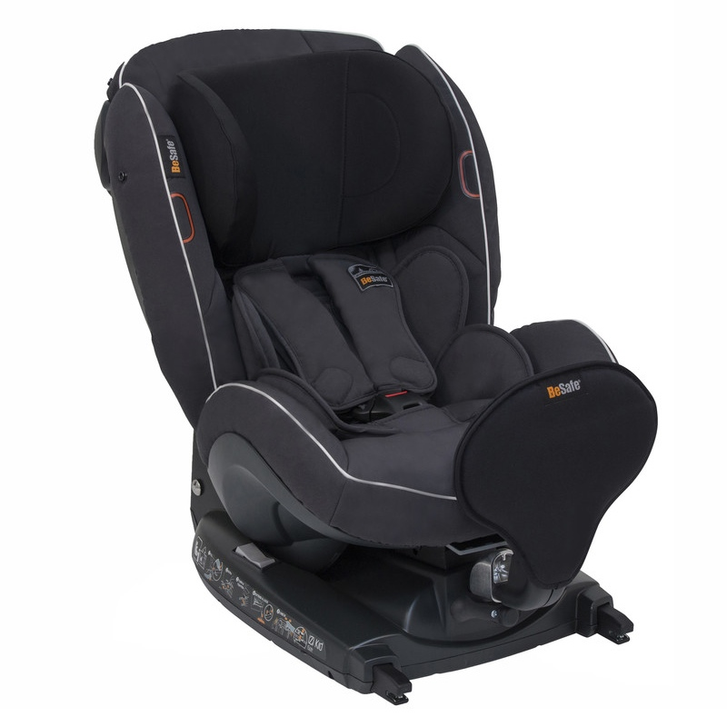 BeSafe iZi Kid i-Size X1 - Lava Grey