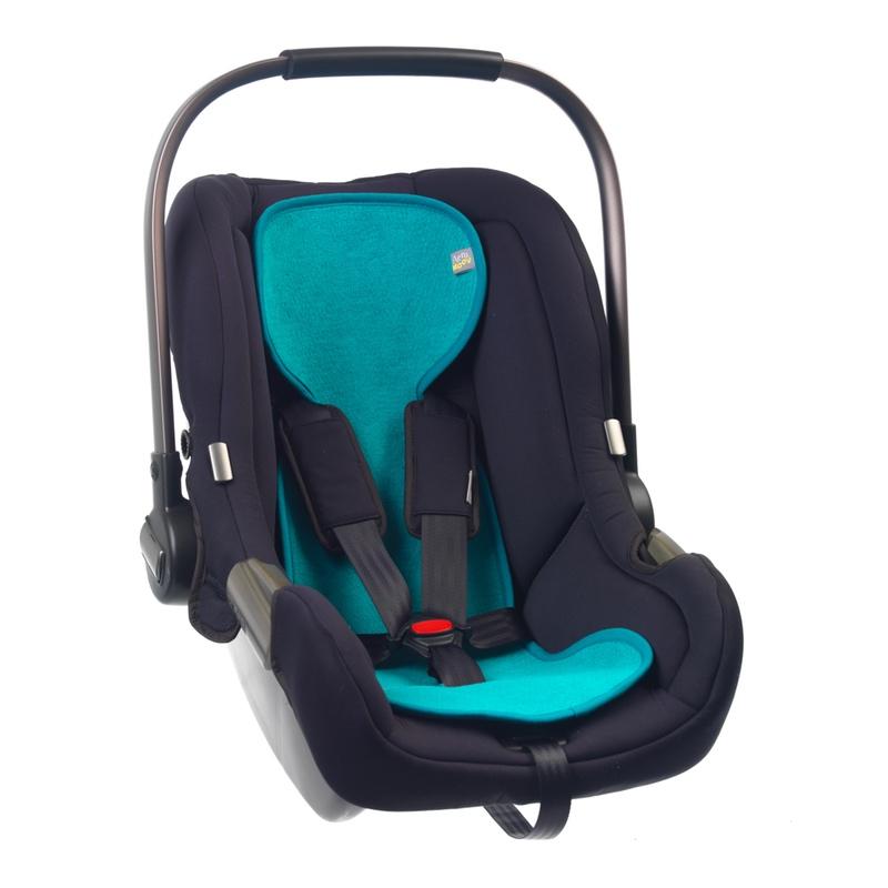 AeroMoov Sitzauflage für Babyschalen - Türkis