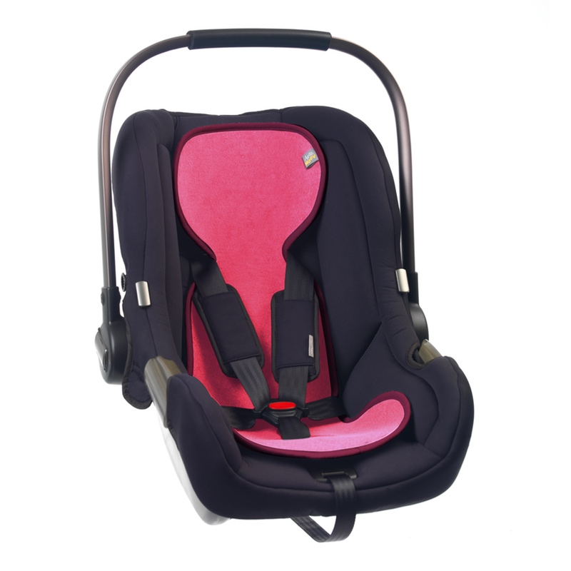 AeroMoov Sitzauflage für Babyschalen - Fuchsia