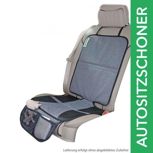 Zwergperten Trittschutz / Autositzschoner / Kindersitzunterlage