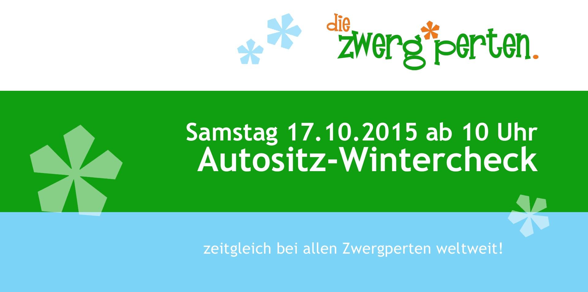 Zwergperten-Wintercheck - Sicherheit für Euren Kindersitz!