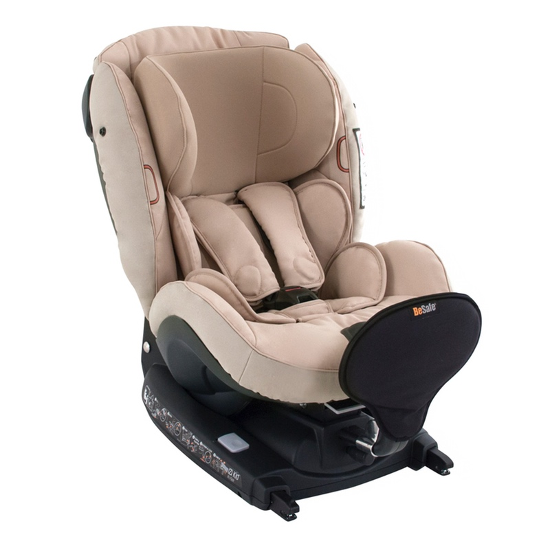 BeSafe iZi Kid i-Size X1 - Lagoon Grey