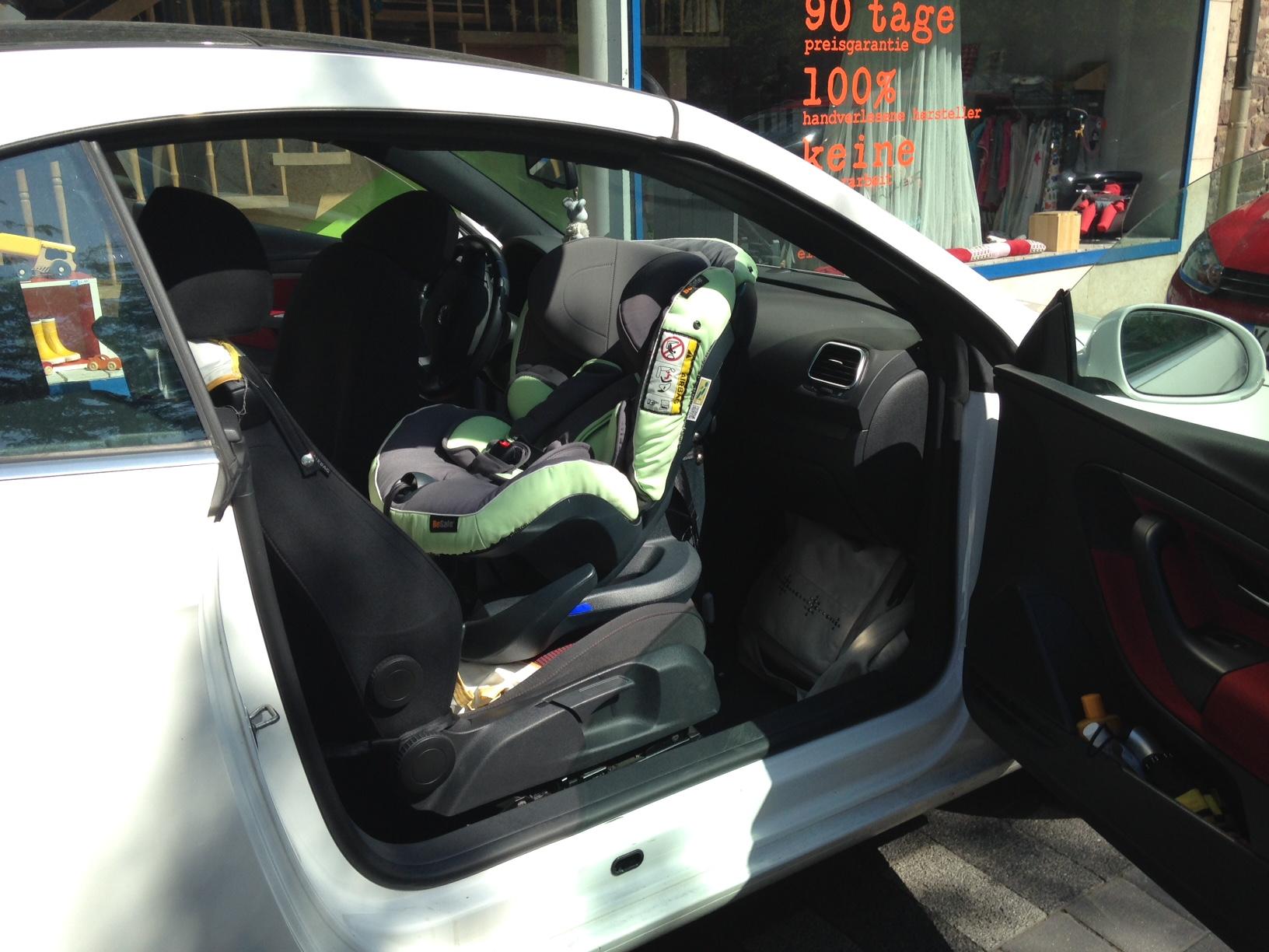 Reboarder auf dem Beifahrersitz- klar, das geht!