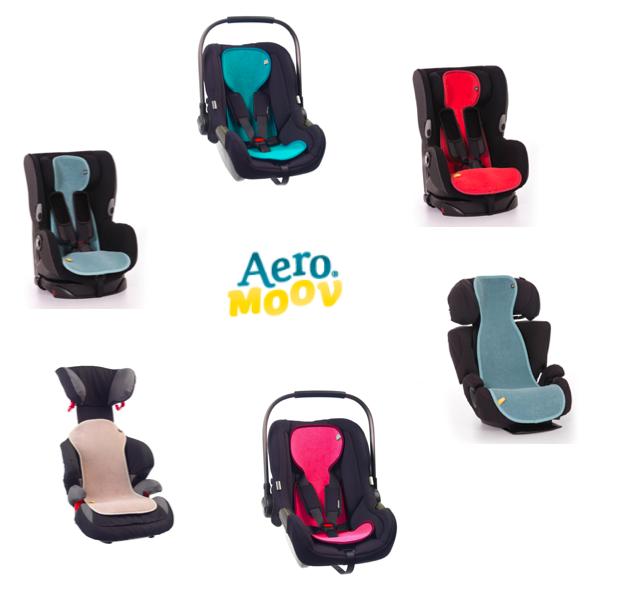 Aeromoov-Einlagen - weniger Schwitzen in allen Kindersitzen